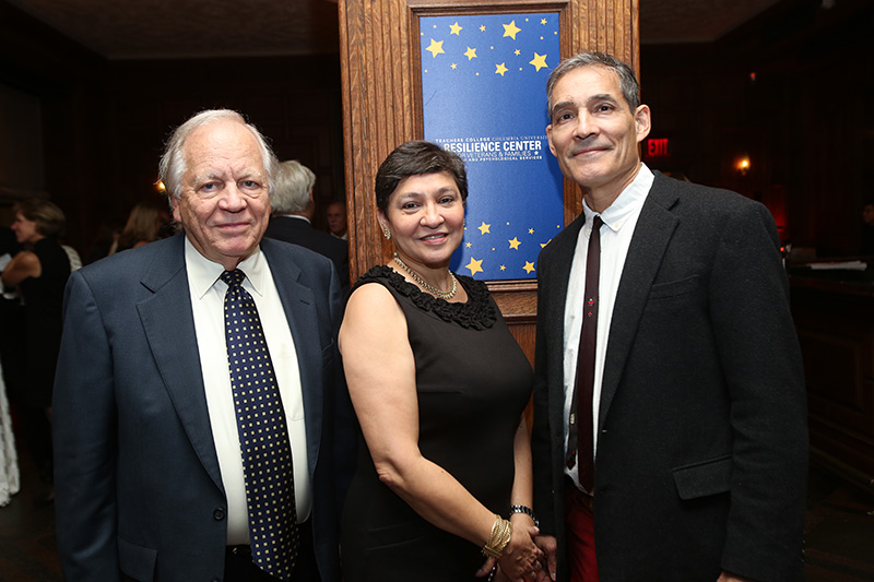 Warner Burke, Dinelia Rosa, and George Bonanno