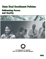 State Dual Enrollment Policies book cover