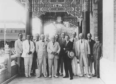 Trustees of the peking union medical college in 1921.