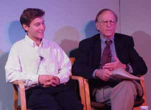 In the photo (from left to right): Diversity Fellow Kenneth Kozol and mentor Dr. Bert Konowitz