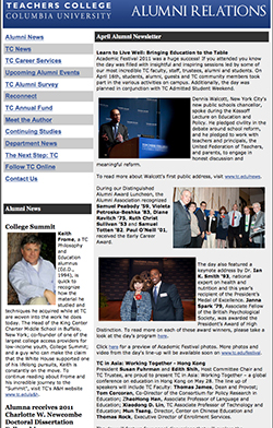 2011 Alumni Newsletters