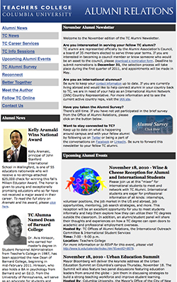 2010 Alumni Newsletters