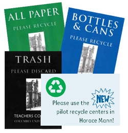 Recycling Centers at TC