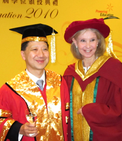 Kagan Receives Honorary Doctorate in Hong Kong