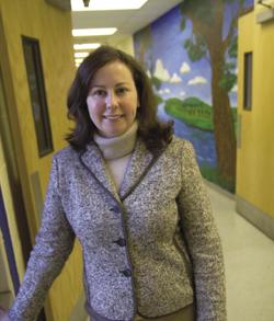 TC alumna Yasmin Helou-Caré