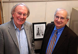 Report co-authors Frederic Mosher (left) and Tom Corcoran