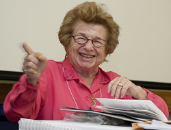 Dr. Ruth at Academic Festival III