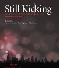 Still Kicking: Aging Performing Artists in NYC and LA Metro Areas