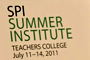 SPI Summer Institute Focuses on Ways to Take Student Voices Public