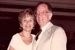 Hannah and Harold Scholl