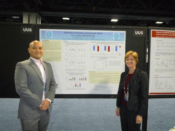 BBS Student and Faculty Member Present Research at Society for Neuroscience
