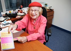 Dr. Ruth (Photography by Shannon Taggart)