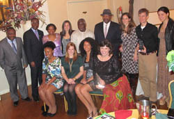 TC Faculty, Administrators Receive Humanitarian Award for Work in Ghana (Photo Credit: Nate Wight)