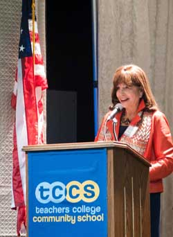 TC President Susan Fuhrman (Photographer: Heather Van Uxem Lewis)