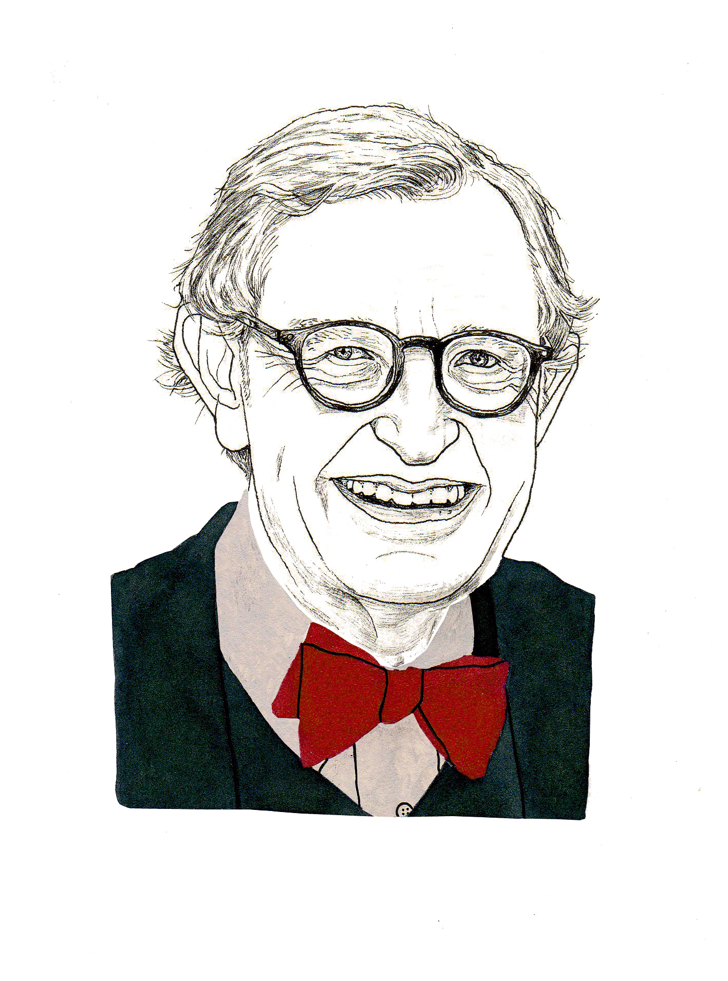 E. Gordon Gee (Illustration by Adam Cruft)