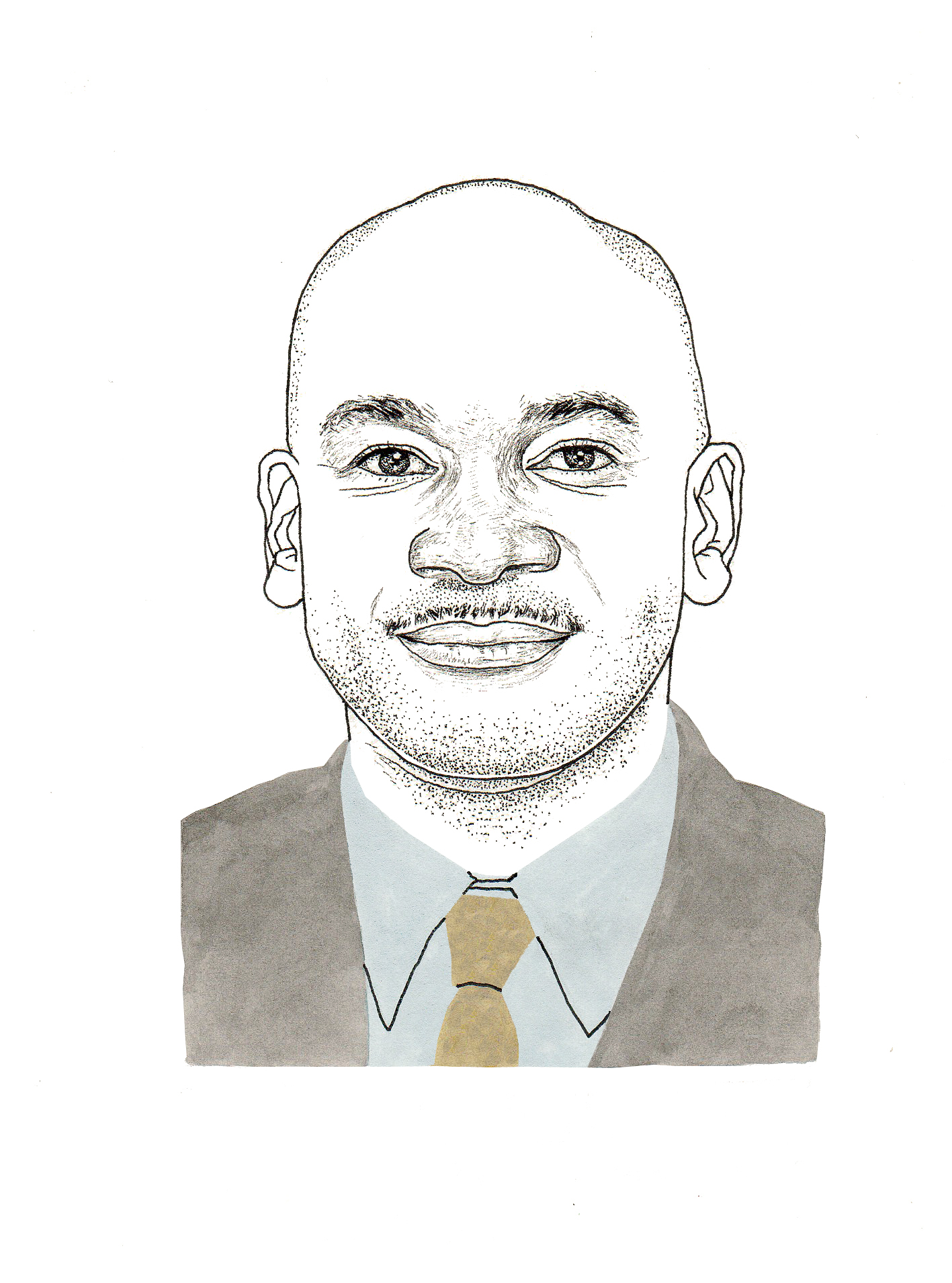 Brian K. Perkins (Illustration by Adam Cruft)