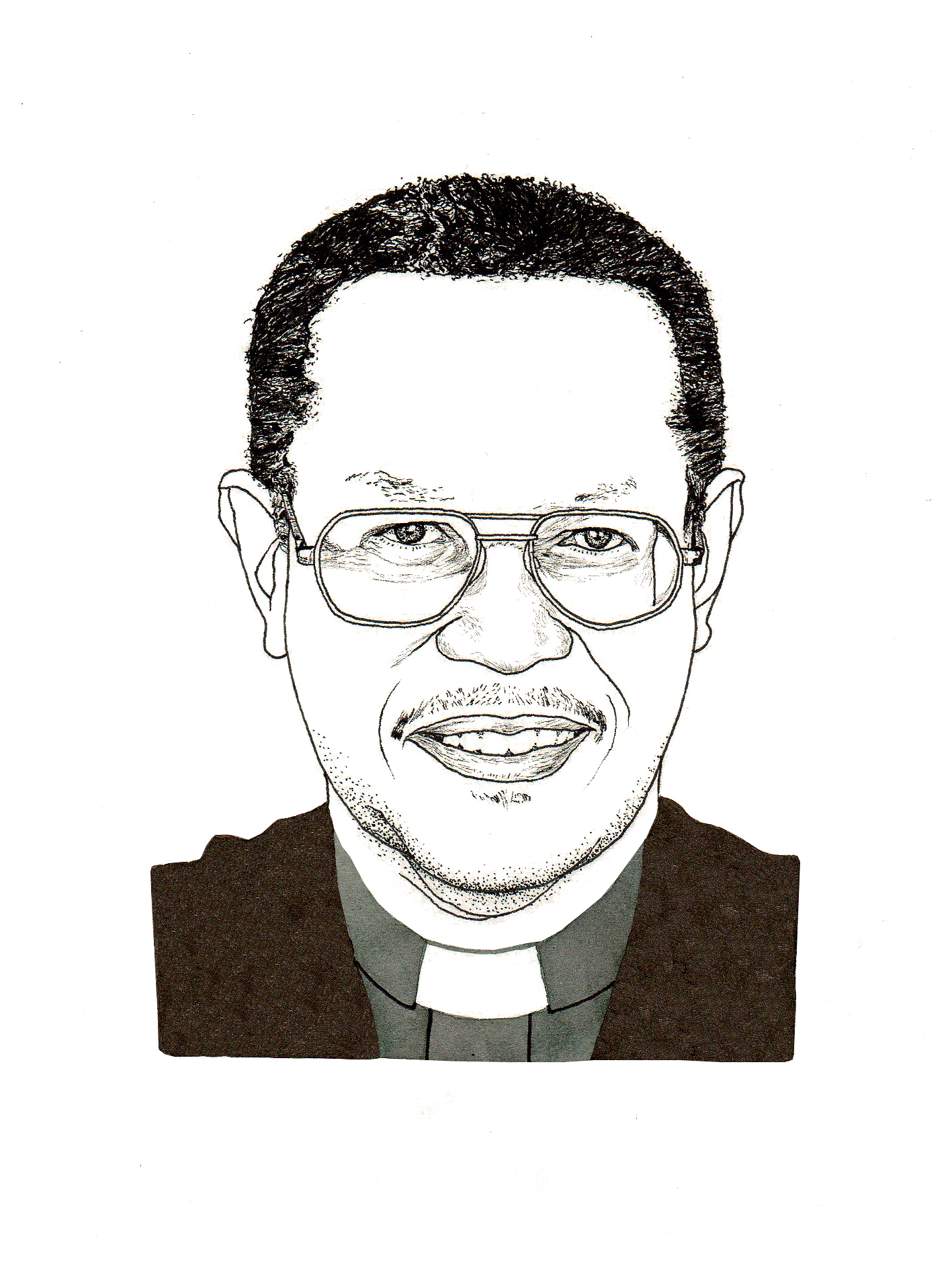 Rev. Lesley George Anderson (Illustration by Adam Cruft)