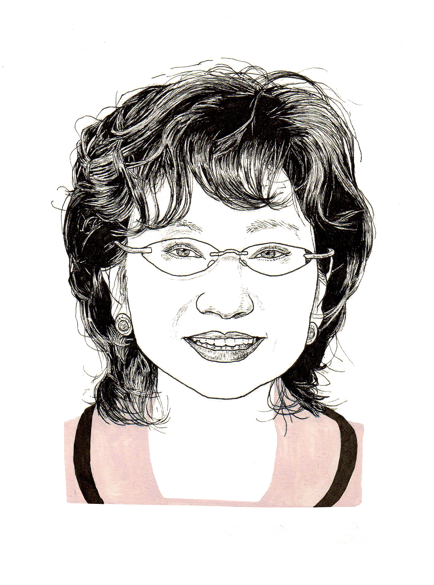Edith Shih (Illustration by Adam Cruft)