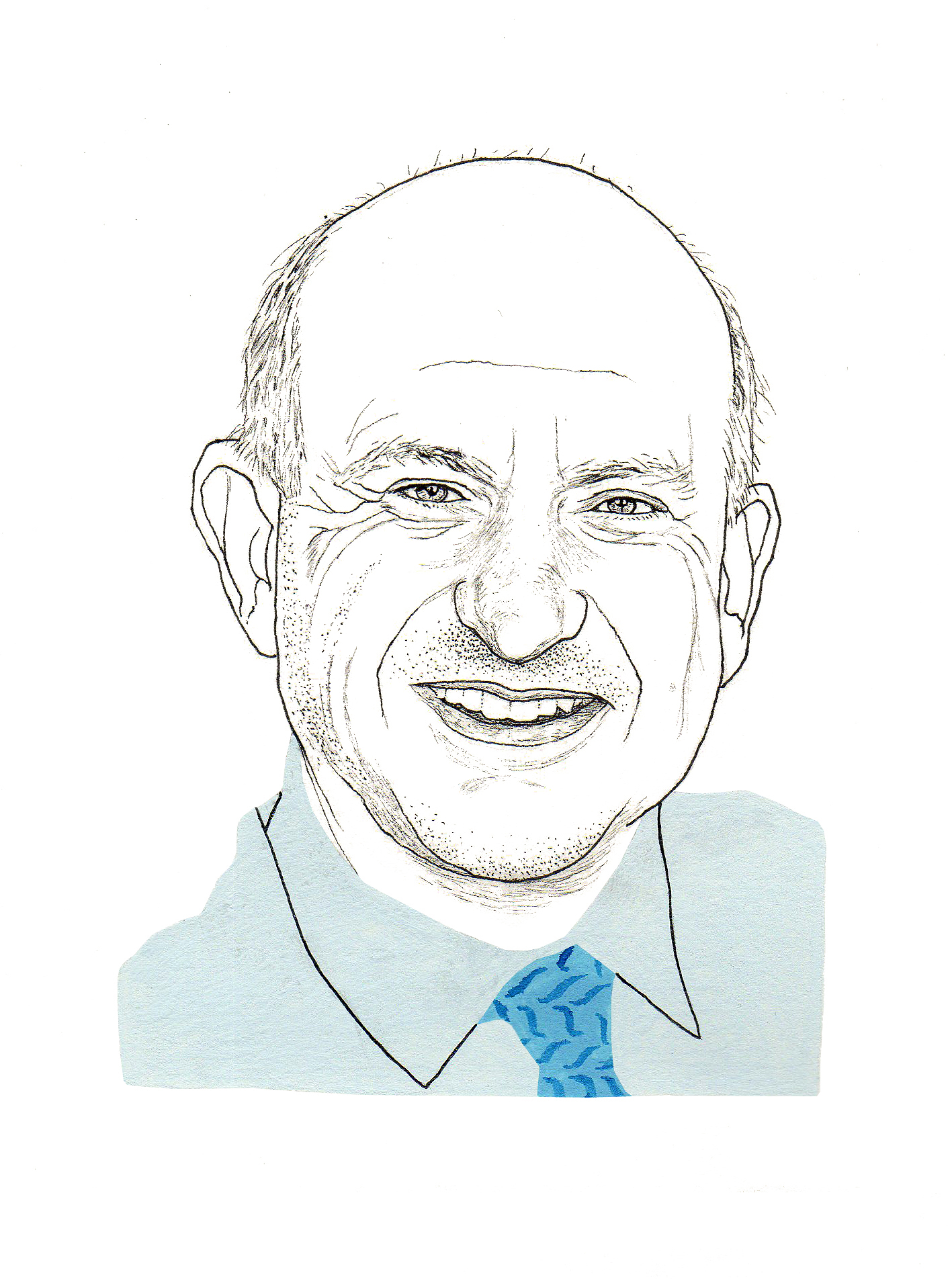 Richard Robinson (Illustration by Adam Cruft)