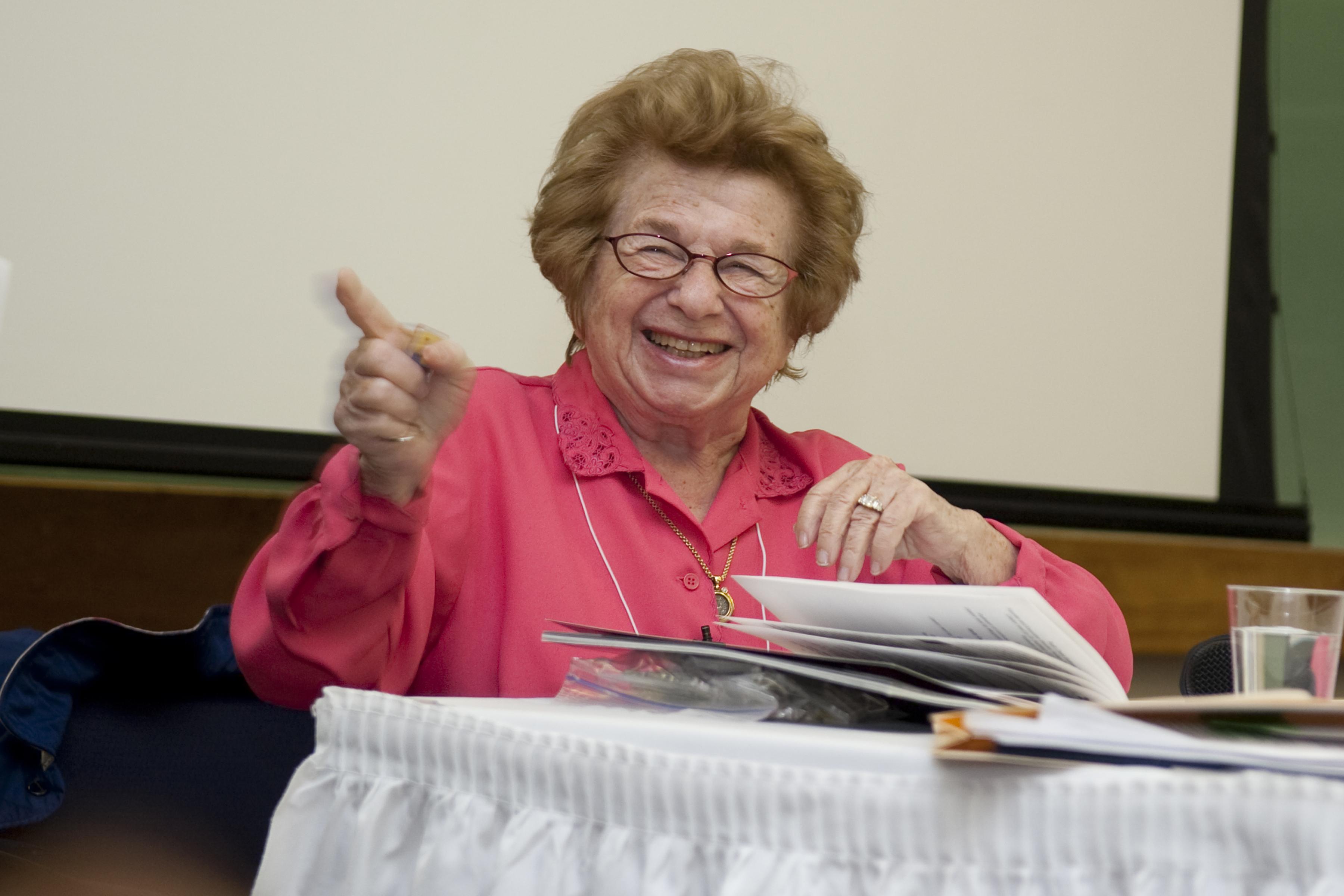Dr. Ruth Westheimer, Ed.D.