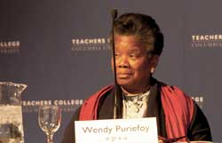 Wendy Puriefoy, President of the Public Education Network (Photograph by Susan Cook)
