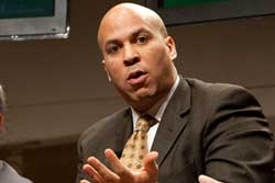 Cory Booker, Newark Mayor and Teachers College Trustee