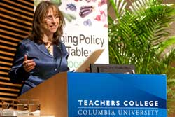 Pamela Koch, Executive Director of the new Laurie M. Tisch Center for Food, Education & Policy