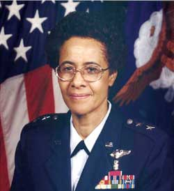 Major General Irene Trowell-Harris, Ed.D., USAF, retired