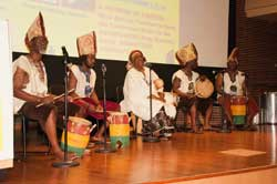 Cultural Opening by Nana Korantema Ayeboafo and the African Ensemble