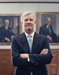 Bill Rueckert (Photograph by Michael Rubenstein)