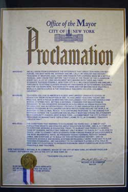 TC Way Proclamation