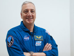 Mike Massimino, NASA Astronaut (Photo by Heather Van Uxem Lewis)