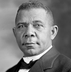 Booker T. Washington (Photo from commons.wikimedia.org)