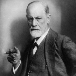 Sigmund Freud, father of the field of psychoanalysis