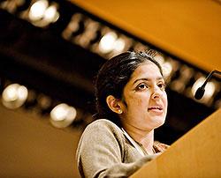 TC Alumna Ameena Ghaffar-Kucher