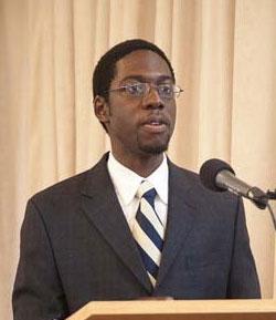 Alumnus Travis Bristol