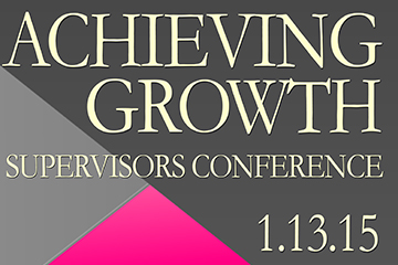 "OTE to Sponsor ""Achieving Growth,"" A Conference for Supervisors"
