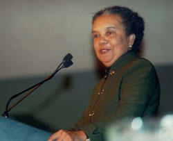 Marian Wright Edelman Delivers Annual Marx Lecture