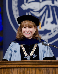 Fuhrman at Commencement