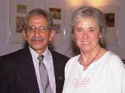 Professors Prabha Sahasrabudhe and Judith Burton