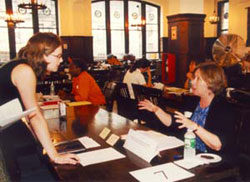 The Fall 2001 TC Job Fair