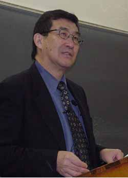 Professor Weiming Tu, of Harvard University