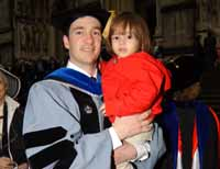 TC graduate and child