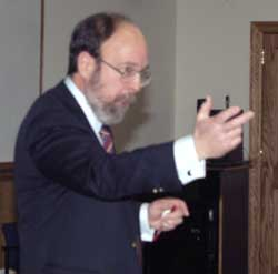 Gary Siperstein delivers the 2004 Leonard and Frances Blackman Lectures at TC.