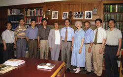 Chinese Delegates Visit TC