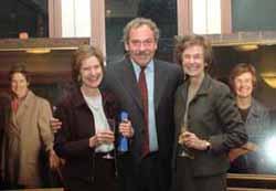 Antonia Grumbach, President Levine, Dinny Morse