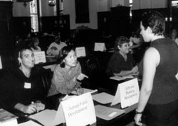 The Fall 2000 Job Fair for TC Students