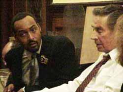Jesse Martin and Jerry Orbach