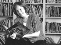Lucy Calkins holds the Robinson Chair in Children