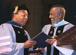 TC Graduates Celebrate at Master